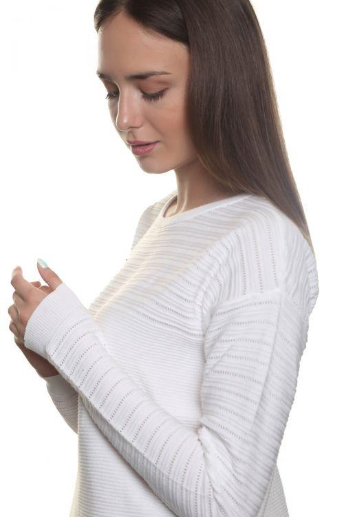 Βαμβακερή μπλούζα - Λευκό 1905