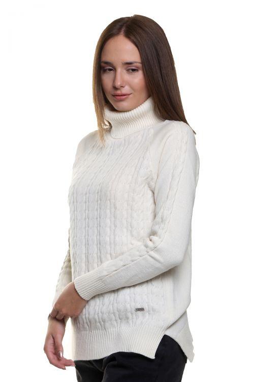 Μπλούζα  ζιβάγκο με κοτσίδες - Εκρού  9514M
