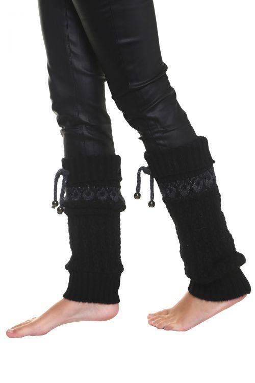 Γκέτες  ζακάρ - Μαύρο 96853G