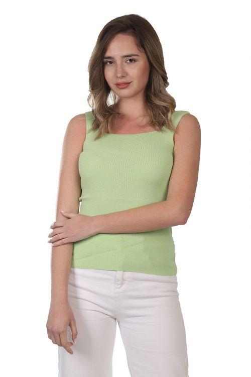 Μπλουζάκι  τιράντα - Λαχανι 52121