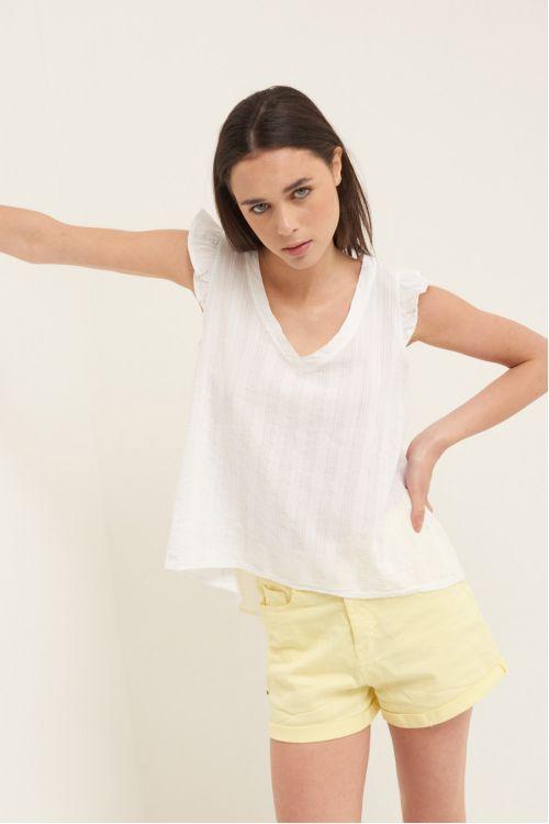 Μπλούζα  V - Λεύκο 52323