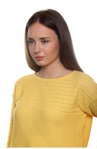 Βαμβακερή μπλούζα - Κίτρινο 1932