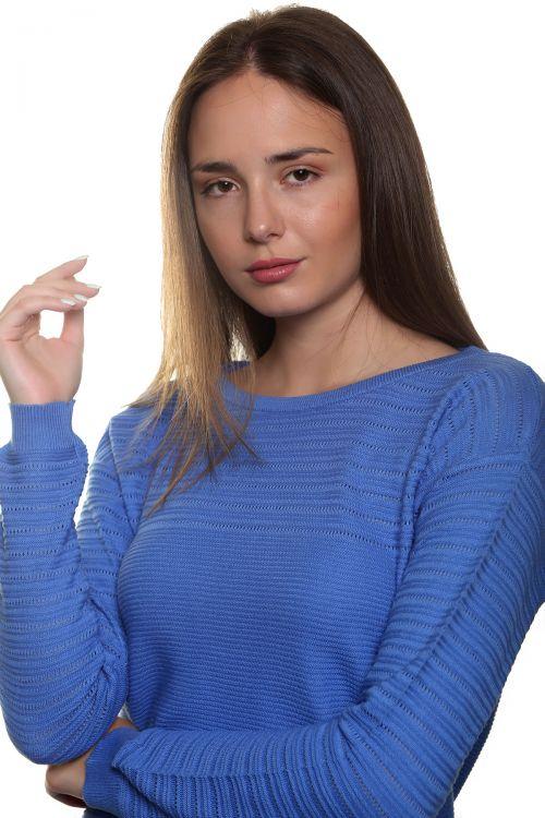 Βαμβακερή μπλούζα - Σιέλ 1940