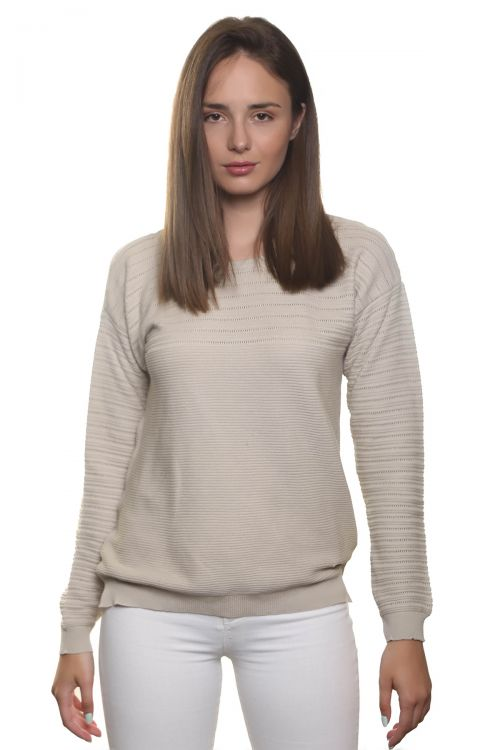 Βαμβακερή μπλούζα - Μπεζ 1951