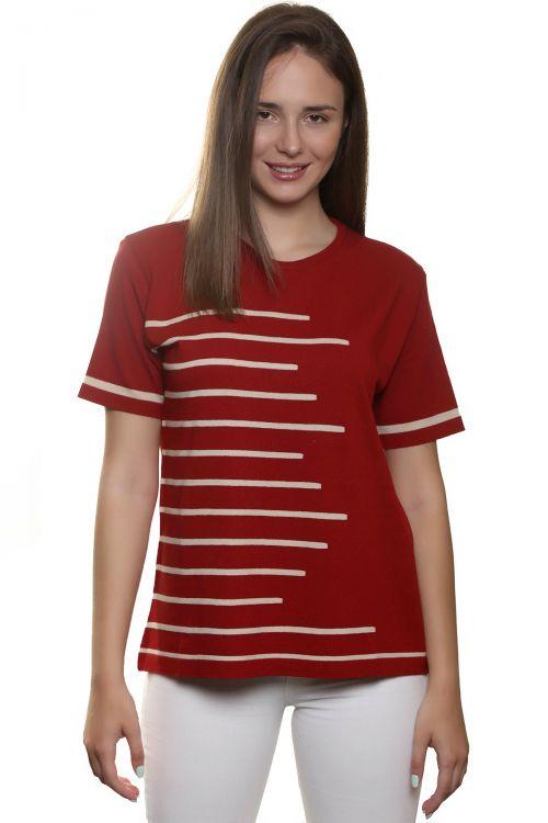 Μπλούζα  κοντομάνικη- Κόκκινο σκούρο 1958