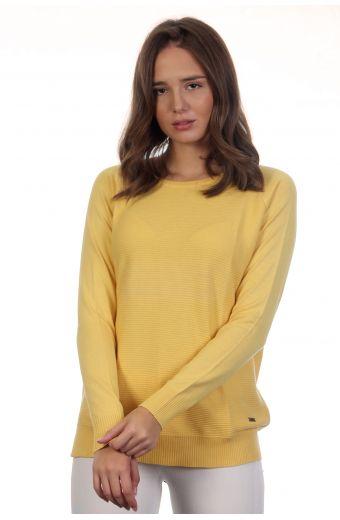 Βαμβακερή μπλούζα - Κίτρινο 3949