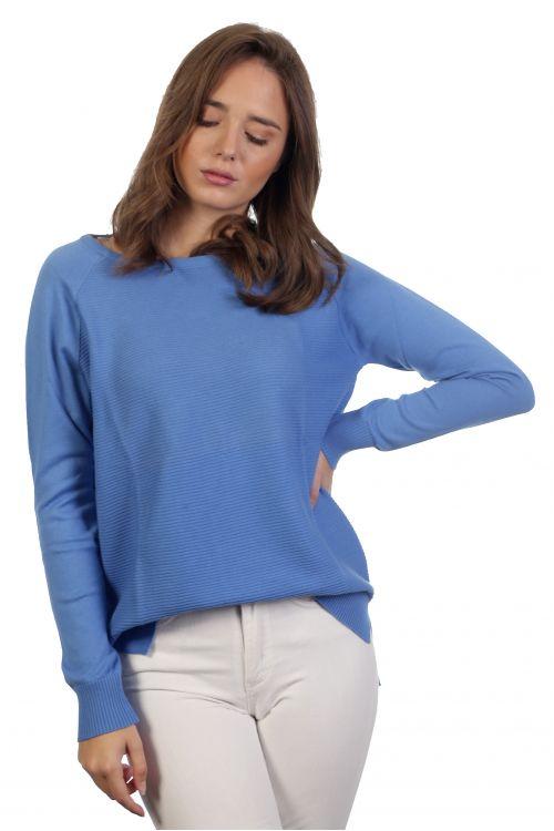 Βαμβακερή μπλούζα - Σιέλ 3967