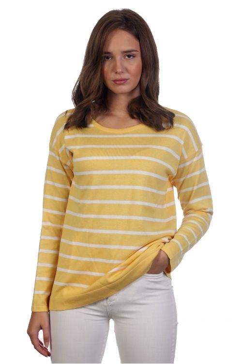 Ριγέ μπλούζα - ΄Κίτρινο 4051