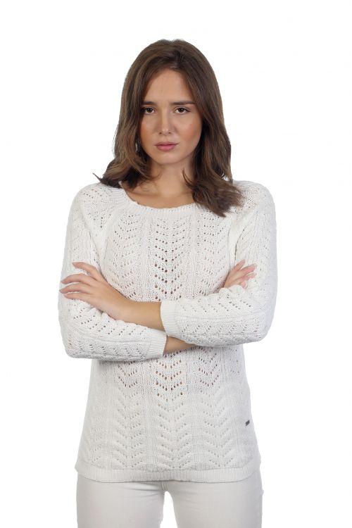 Μπλούζα Βαμβακερή - Λευκό KAL22
