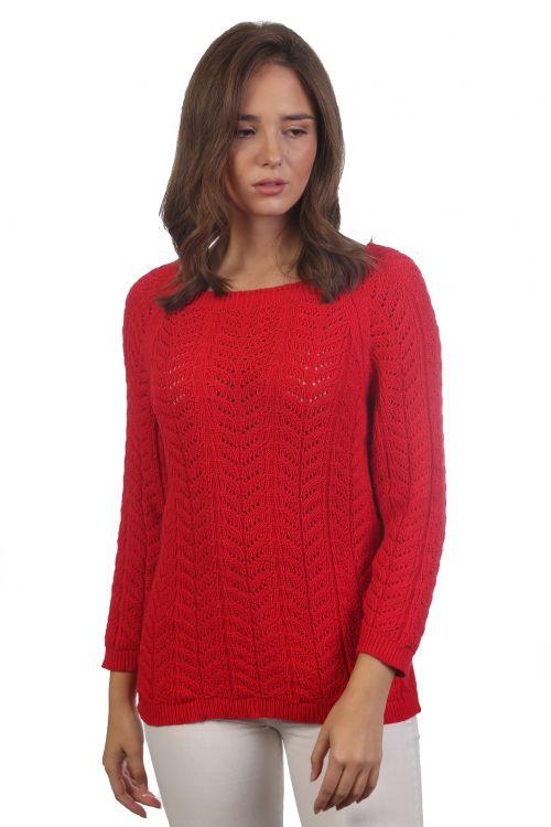Μπλούζα χαμόγελο - Κόκκινο KAL2