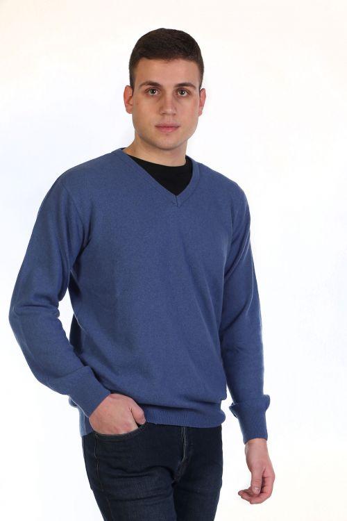 Μπλούζα αντρική με VE - ραφ 8949A