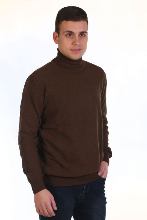 Μπλούζα αντρική Ζιβάγκο - καφέ 8966Z