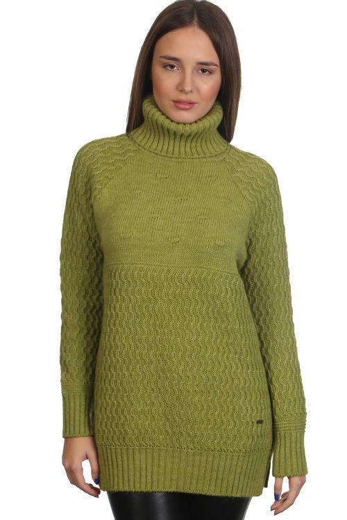 Πουλόβερ απαλό -Πράσινο 9206