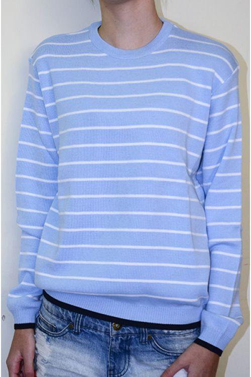 Στολή σχολείου - Μπλούζα λαιμόκοψη P1009
